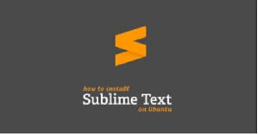 Download và su dung Sublime