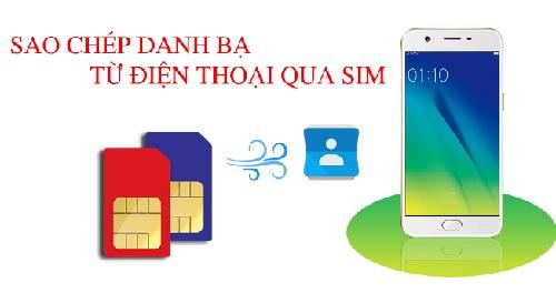 Cach copy so dien thoai tu iphone sang sim