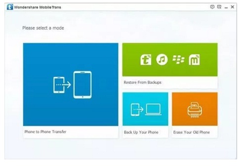 Phan mem chuyen du lieu tu icloud sang Android Wondershare MobileTrans 8.0