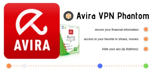 Phan mem fake IP Avira Phantom VPN Pro