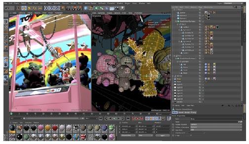 Phan mem lam phim hoat hinh Cinema 4D Studio R20