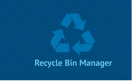 Phan mem quan ly thung rac Recycle Bin Manager 2.1