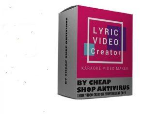 phan mem tao video karaoke Lyric Video Creator Professional