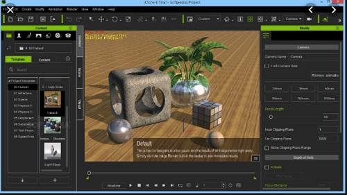 Phan mem do hoa 3D iClone Pro 7.5