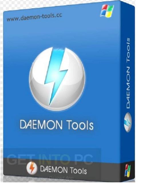 Phan mem tao o dia ao Daemon Tools Lite.