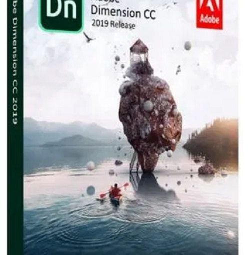 phan mem thiet ke do hoa 2D, 3D Adobe Dimension CC 2019..