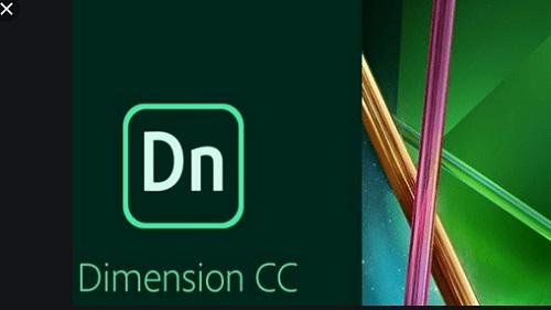 phan mem thiet ke do hoa 2D, 3D Adobe Dimension CC 2019..