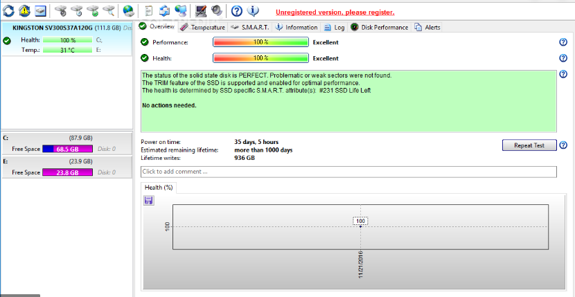 Hard Disk Sentinel Pro 5.30