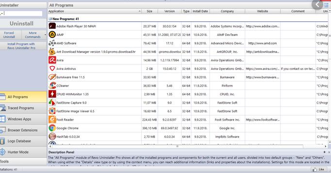 Revo Uninstaller Pro 4.2