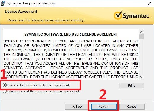 cai dat Symantec Endpoint Protection 1