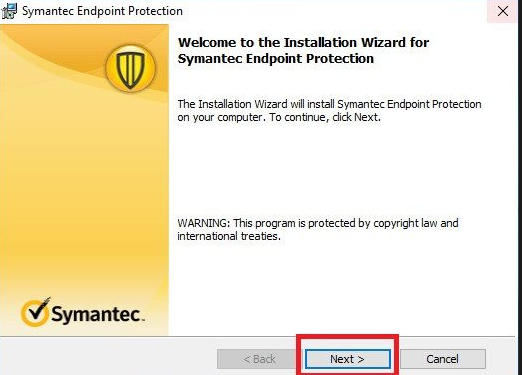 cai dat Symantec Endpoint Protection