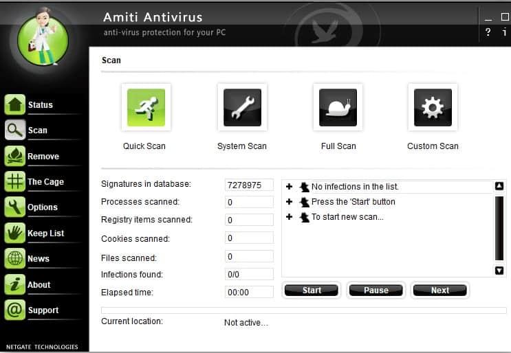 NETGATE Amiti Antivirus 2019