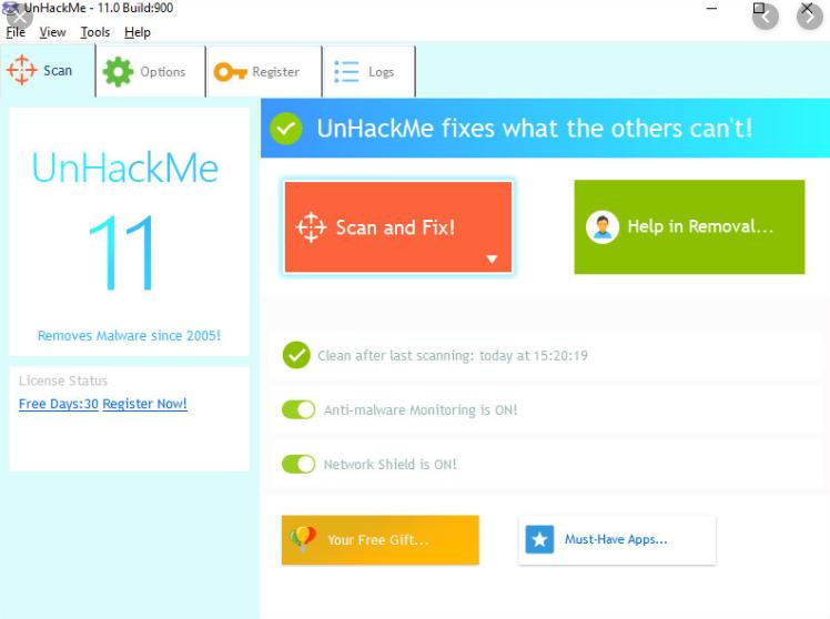 UnHackMe 11.2