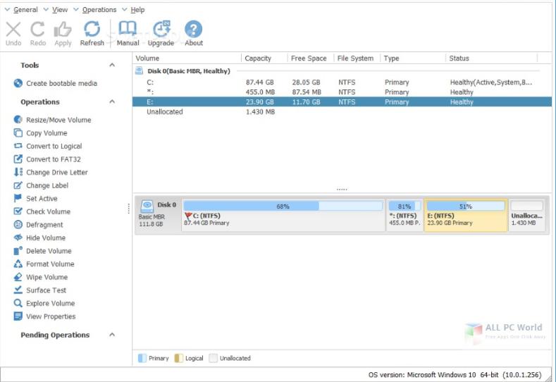 install NIUBI Partition Editor Technician Edition 7.2