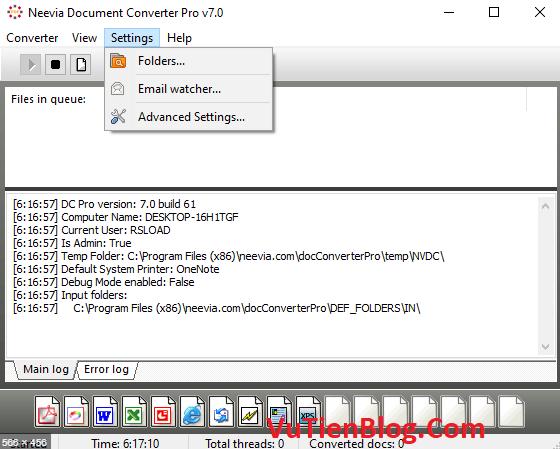 Neevia Document Converter Pro 7.0