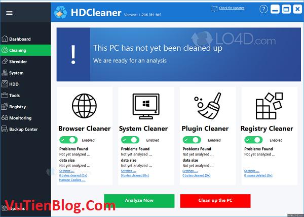 setup HDCleaner 1.2
