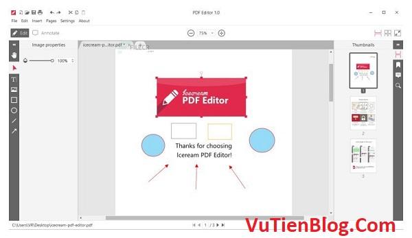setup Icecream PDF Editor Pro 2.08