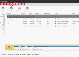 MiniTool Partition Wizard Pro 11.6