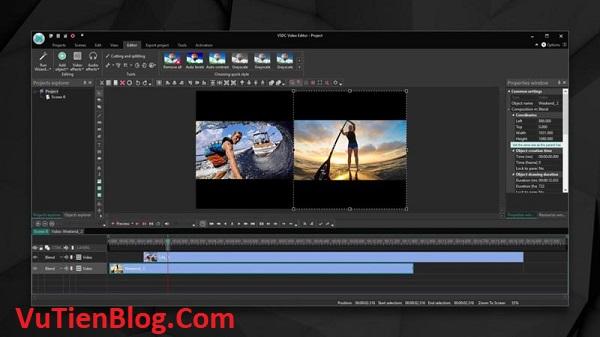 VSDC Video Editor Pro 6 active