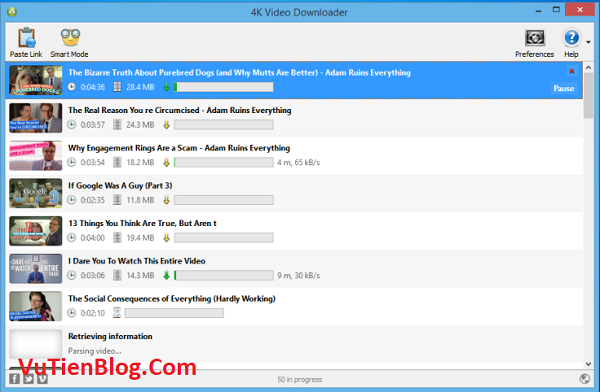 setup 4K Video Downloader 4.1