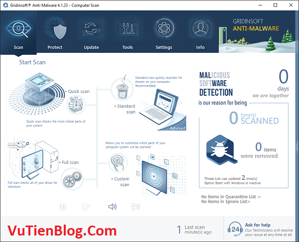 setup GridinSoft Anti Malware 4.1