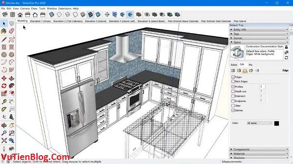 setup SketchUp Pro 2020