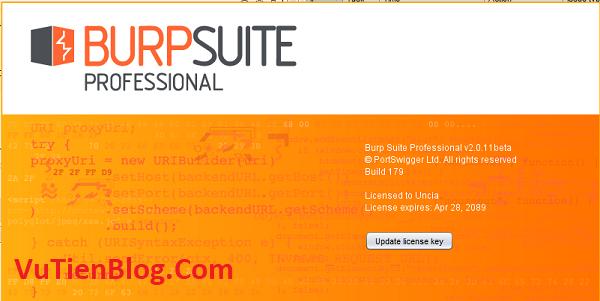 Burp Suite Professional 2020 active