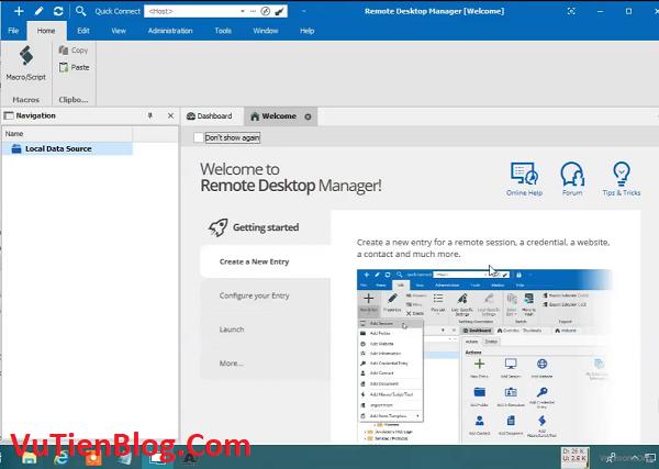 Remote Desktop Manager Enterprise 2020 active