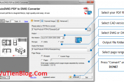 AutoDWG PDF to DWG Converter Pro 2020