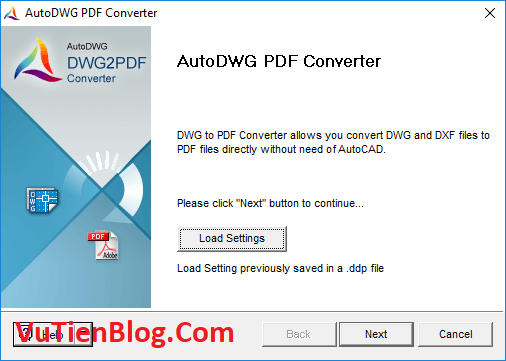 AutoDWG PDF to DWG Converter Pro 2020 active