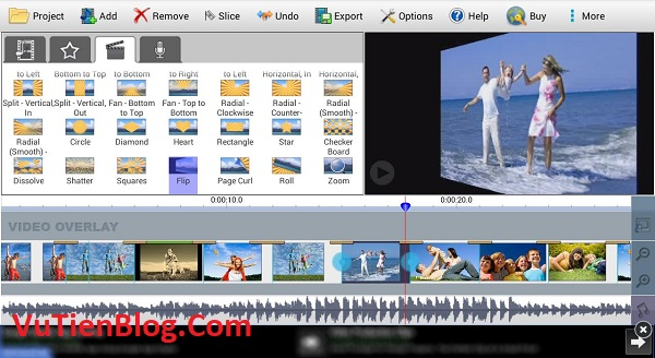 VideoPad Video Editor Pro 8.7 active