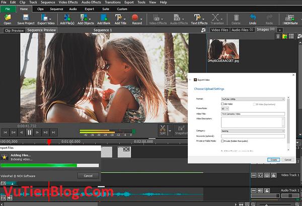 VideoPad Video Editor Pro 8.7