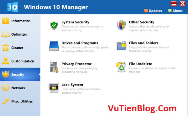 Windows 10 Manager 3.3