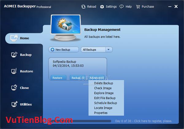 AOMEI Backupper Pro 6.2