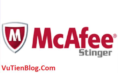 McAfee Stinger 12.2 setup