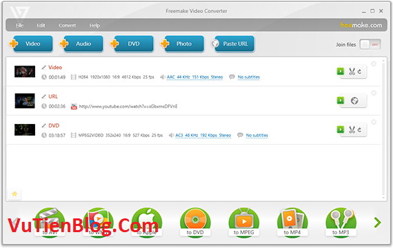 Freemake Video Converter Gold 4.1 active