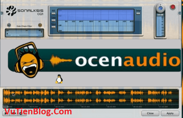 Ocenaudio 3.1 active